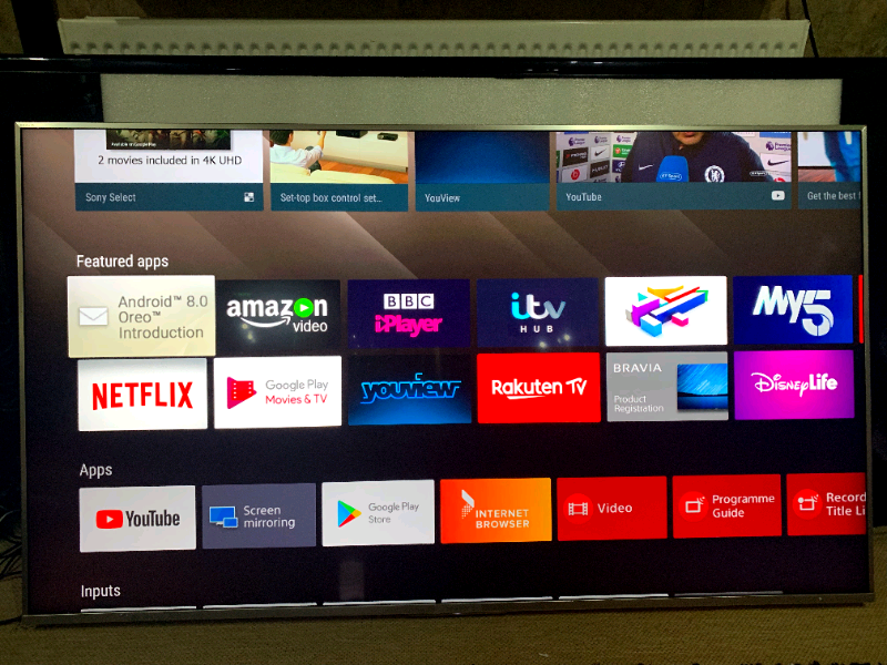 Sony KD55XF8577 4K Ultra HD HDR10 Smart Android Freeview LED | in Hodge  Hill, West Midlands | Gumtree