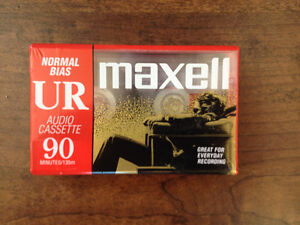 Maxell cassettes 90 minute