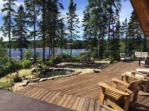 Maison en bois rond à vendre 120, ch. des Patriotes, Ste-Monique Lac-Saint-Jean Saguenay-Lac-Saint-Jean image 2