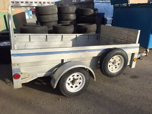 2007 Sterling 4x8 galvanized exspandable trailer