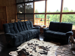 Lazyboy recliner sofa set