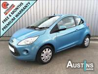 FORD KA 1.2 STYLE PLUS 3-Door 2009 Petrol Manual in Blue