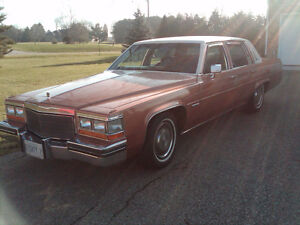 "** REDUCED**""RARE FIND"" 1982 Cadillac Salon DeVille 4.1L Digital"