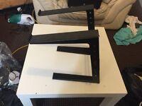 Dj laptop sturdy stand metal body