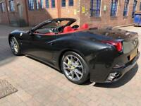 FERRARI CALIFORNIA 2011 4.3, 2 PLUS 2, FULL FERRARI HISTORY, RED LEATHER (2011)