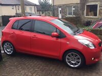 Toyota Yaris SR tints 1.3 Quick sell petrol and parrot