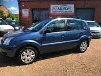 2005(55) Ford Fusion 2 1.4 TDCi Blue, 5dr Hatch, **ANY PX WELCOME**