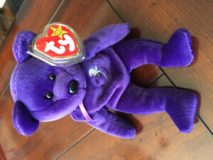 princess diana beanie baby first edition value