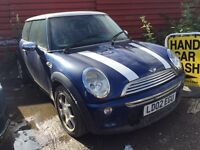 MINI COOPER AUTOMATIC SPARES OR REPAIRS BARGAIN