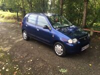 Suzuki Alto mot till 30/8/17,. £30 road tax for 12 month Cambelt done