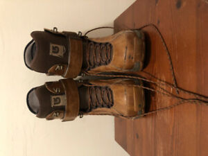 Burton Freestyle Snowboard Boots size 8.5 brown