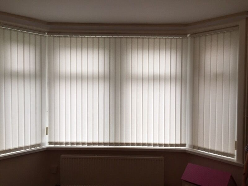 Vertical Blinds For Bay Window In Barry Vale Of