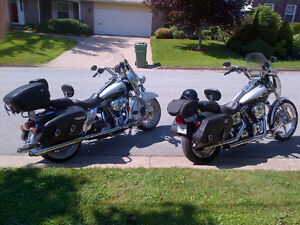 100th Anniversary Road King and Wide Glide