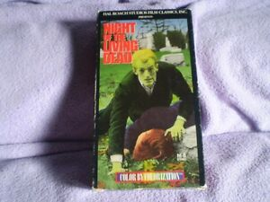 vhs night of the living dead/ca vas cogner/la putin du roi/moise