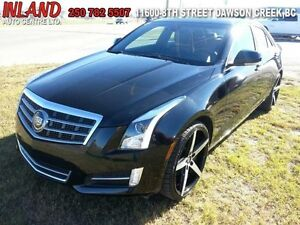 2014 CADILLAC ATS 3.6 Premium  AWD,Auto,Leather,Nav,Heat/Cool Se