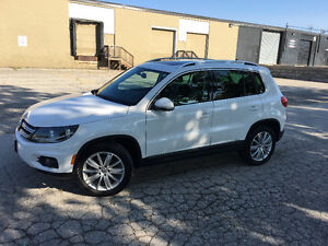For Sale ! 2014 Volkswagen Tiguan White SUV, Crossover