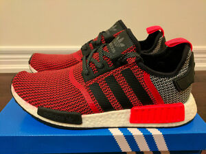 Adidas NMD R1 Lush Red Circa Knit Size 11