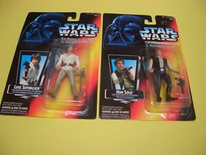 (12) STAR WARS POTF/EPISODE 1 FIGURES FROM 1995, 1996 AND 1999 London Ontario image 2