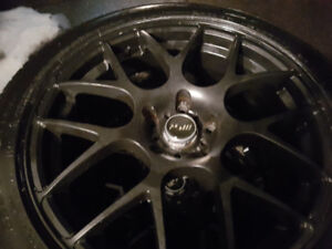 Toyo winter tires and rims 225 50 18