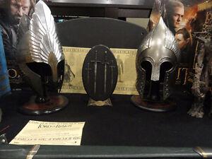 Casque Épée et autres items Seigneur des Anneaux Médiéval