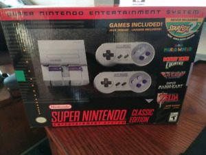 SUPER NINTENDO CLASSIC EDITION SEALED