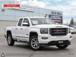 2016 GMC Sierra 1500 1 Owner, Accident Free, Leather, Navi, Roof