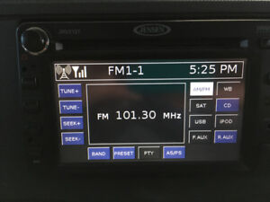 Jensen double din car stereo