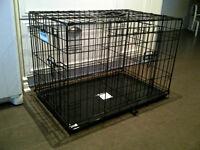 Cage et accessoires pour chien