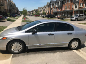 2008 Honda Civic DX-G Silver Sedan Automatic 189000 Kms