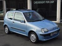 2002 Fiat Seicento 1.1 SXi 52 Reg Only 48k SH Sunroof Nice Car 12 Months MOT