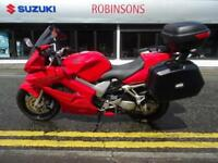 2003 03 Plate HONDA VFR 800-3 23383 miles with 3 part Givi luggage