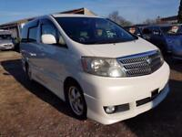 TOYOTA ALPHARD 2 BERTH CAMPERVAN WITH REAR CONVERSION