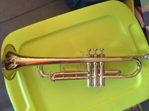 King 600 trumpet made in USA