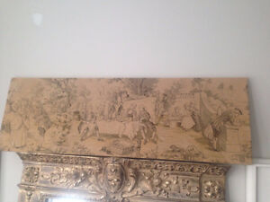 Antique Tapestry 51W by 17H $90 firm