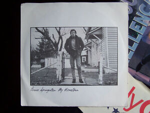 Springstein & Mellencamp 45 Vinyl Records, all 4 for $15 Cambridge Kitchener Area image 3