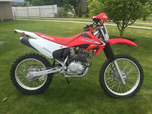 Like new 2013 Honda crf230f