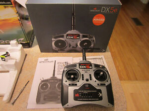 SPEKTRUM DX5e RC control and Blade 120 SR helicopter $50 OBO