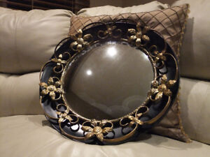 "Mirrors Antique ""Moon Hubcap"" style"