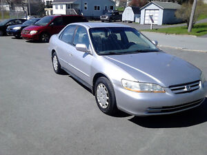 2001 HONDA ACCORD AUTO LOADED ONLY $2787 INSTANT REBATE $384.00