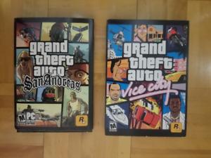Jeux Grand Theft Auto sur  PC