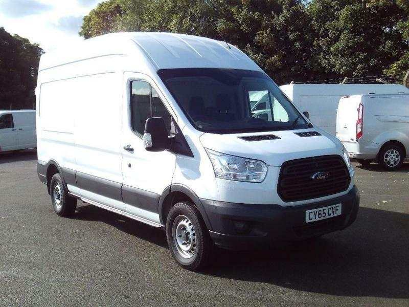 Ford Transit T350 2.2 Tdci 125Ps H3 Van DIESEL MANUAL WHITE (2015)