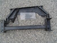 Tow hitch for Dodge Ram