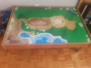 Train table in great condition! $40 OBO