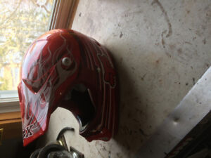 Kids fox Helmet