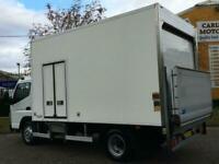 Mitsubishi Canter 7C18 Fridge Freezer Chiller Box Van +T/Lift [ Low Mileage ]