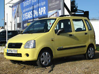 2004/54 SUZUKI WAGON R+ 1.3 GL HATCH AUTOMATIC - ONLY 52000 MILES FROM NEW !!