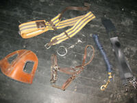 Various used horse items in good condition.