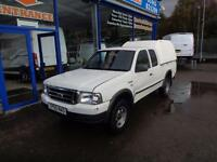 2005 FORD RANGER SUPERCAB 4X4 TD - NO VAT - ONLY 51K !!! 4X4 DIESEL