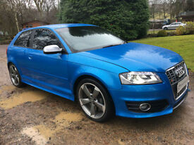 STUNNING AUDI S3 3dr MANUAL HUGE SPEC FACELIFT MODEL 315bhp FULL KENWOOD INSTALL