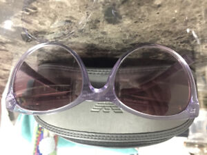 1fcbd88b1b4d Purple Emporio Armani Sunglasses (With Case and Cleaning Cloth)